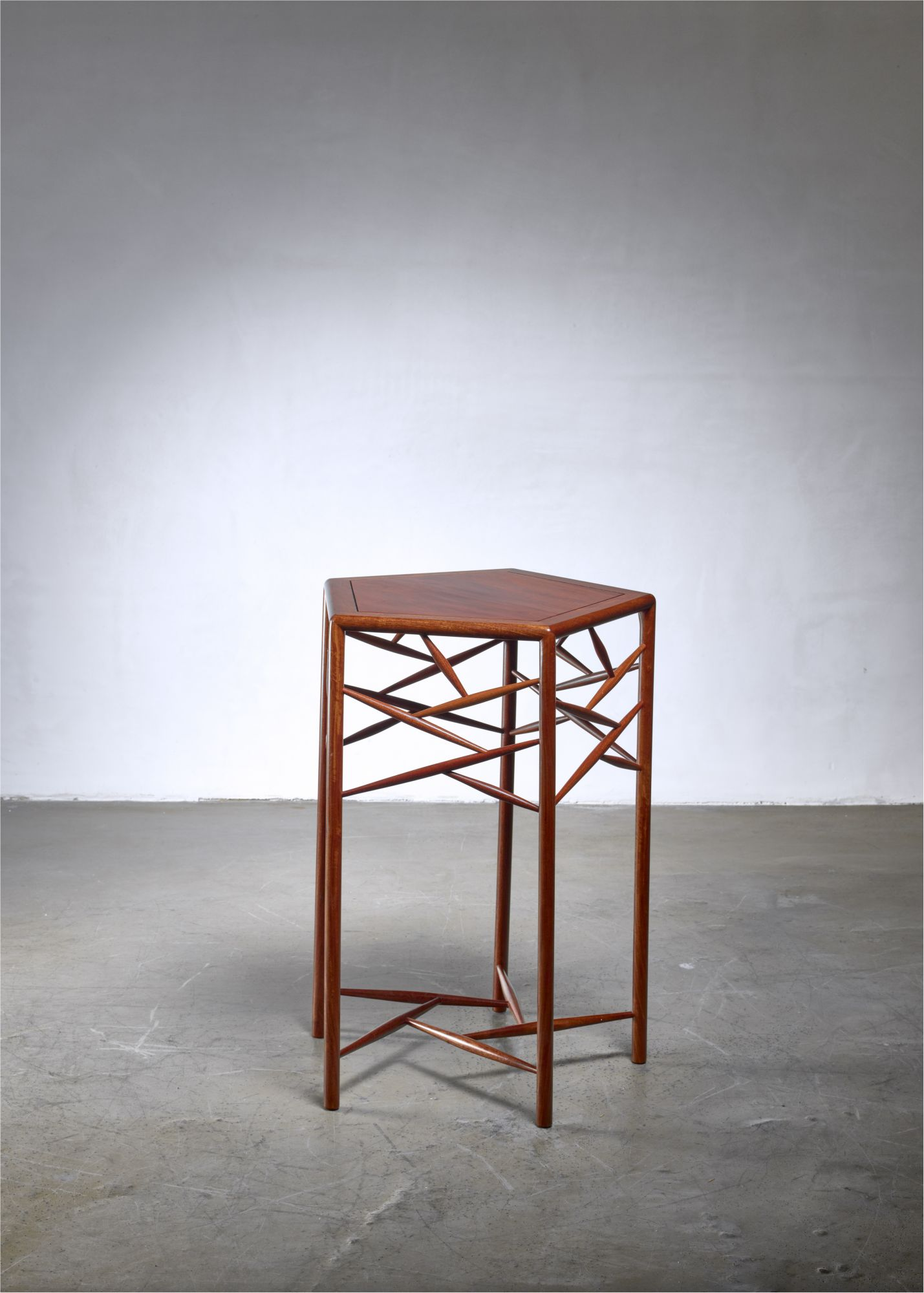 Swell Studio Craft Wood Side Table American 1960S Beatyapartments Chair Design Images Beatyapartmentscom
