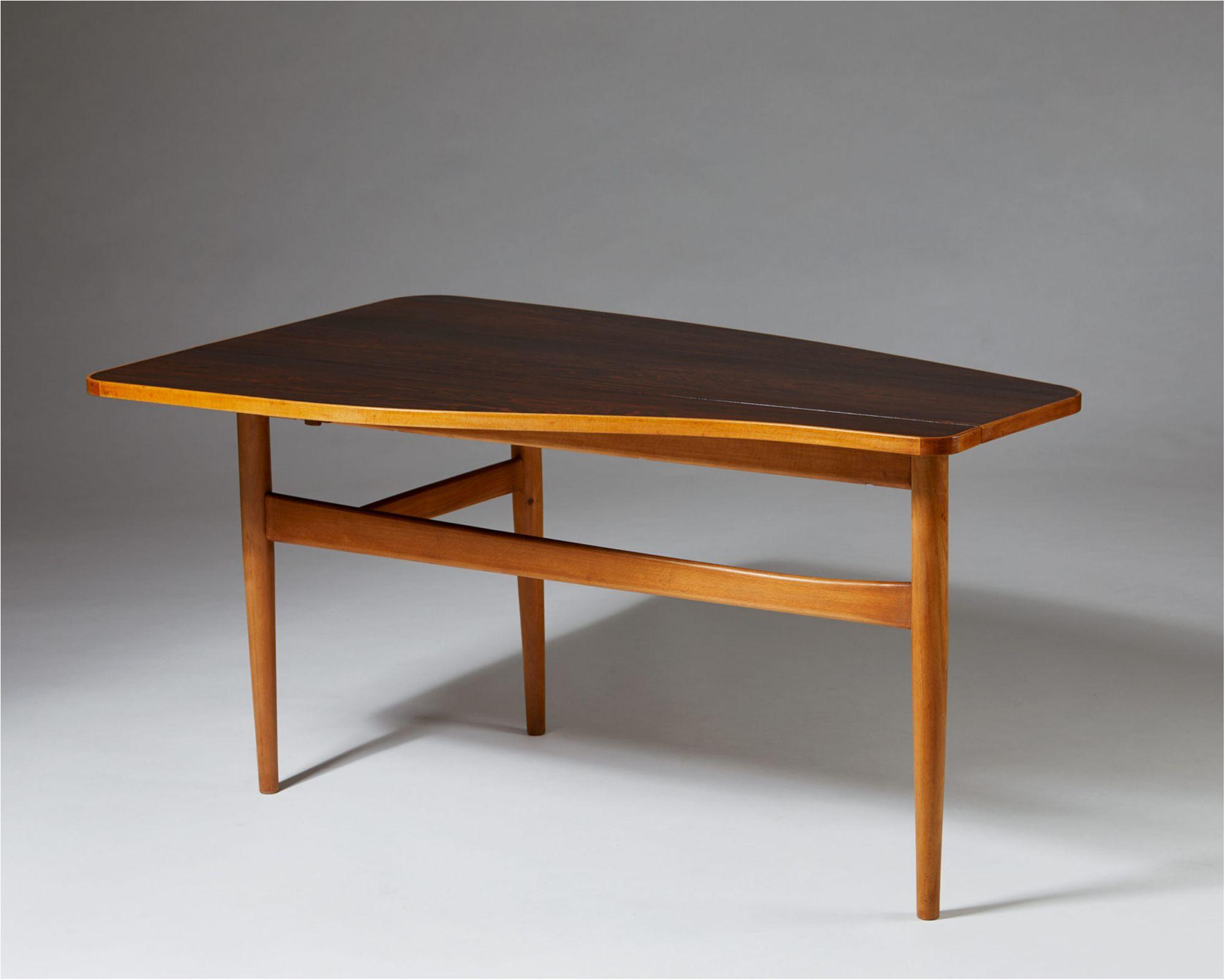 Sensational Occasional Table Designed By Finn Juhl For Bovirke Pabps2019 Chair Design Images Pabps2019Com