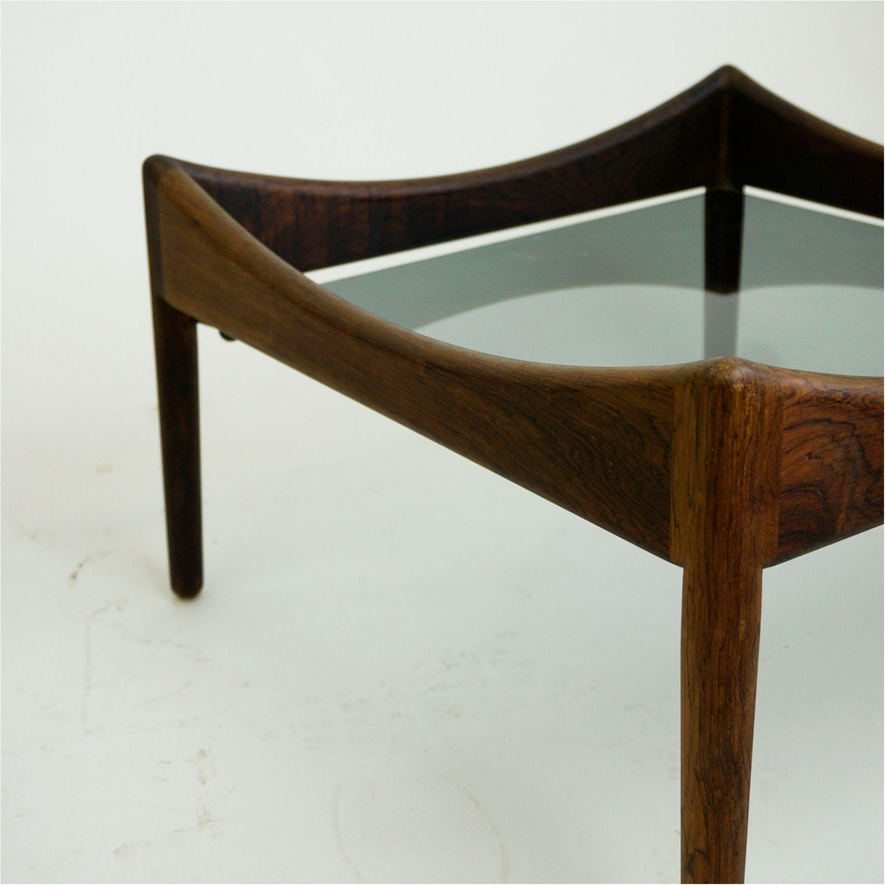 Pair Of Scandinavian Modern Rosewood Coffee Tables Modus By Kristian Vedel