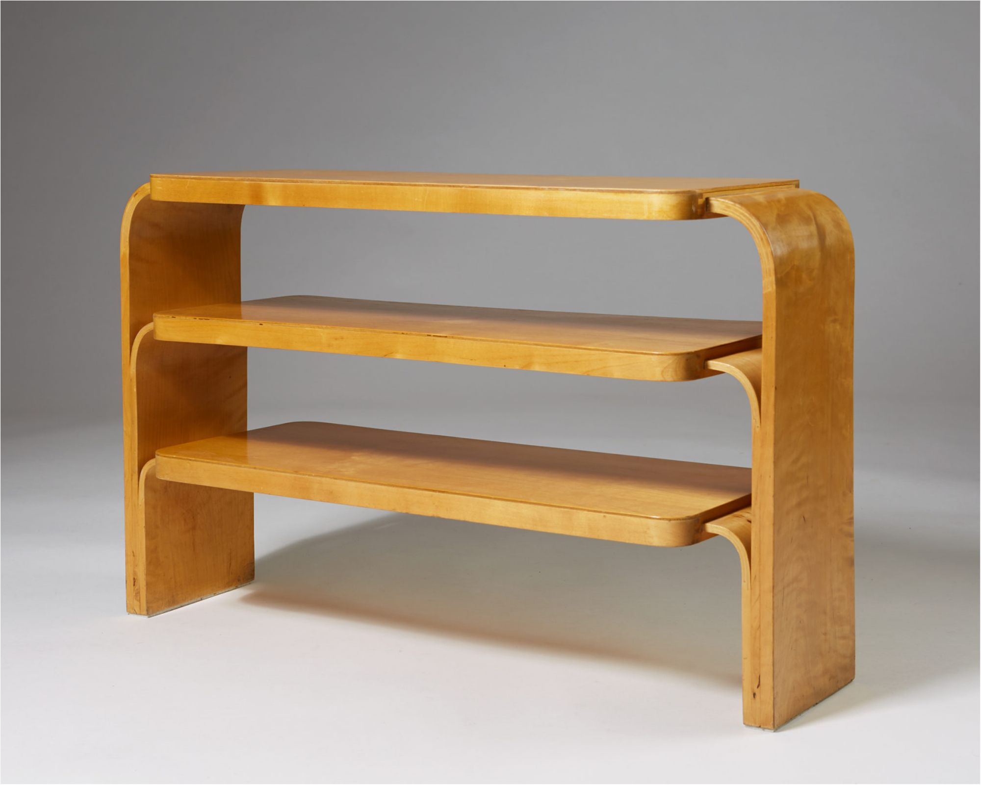 Rare Art Deco Shelf By Alvar Aalto For Hedemora Sweden 1933