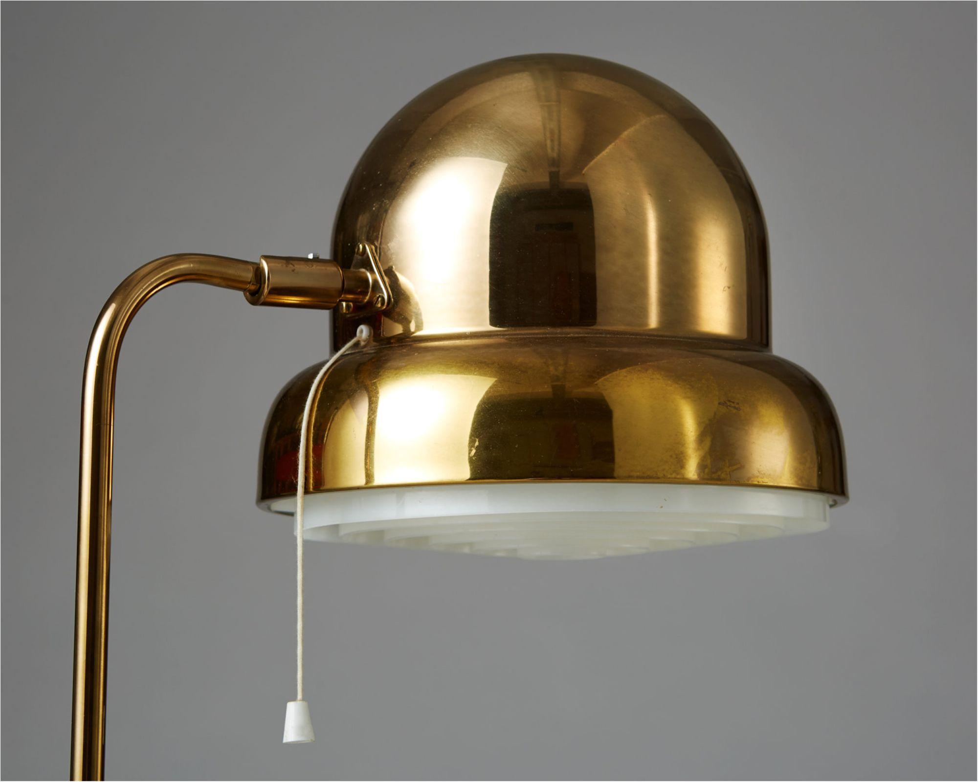 Mid Century Modern Floor Lamp For Bergboms Sweden 1960 S