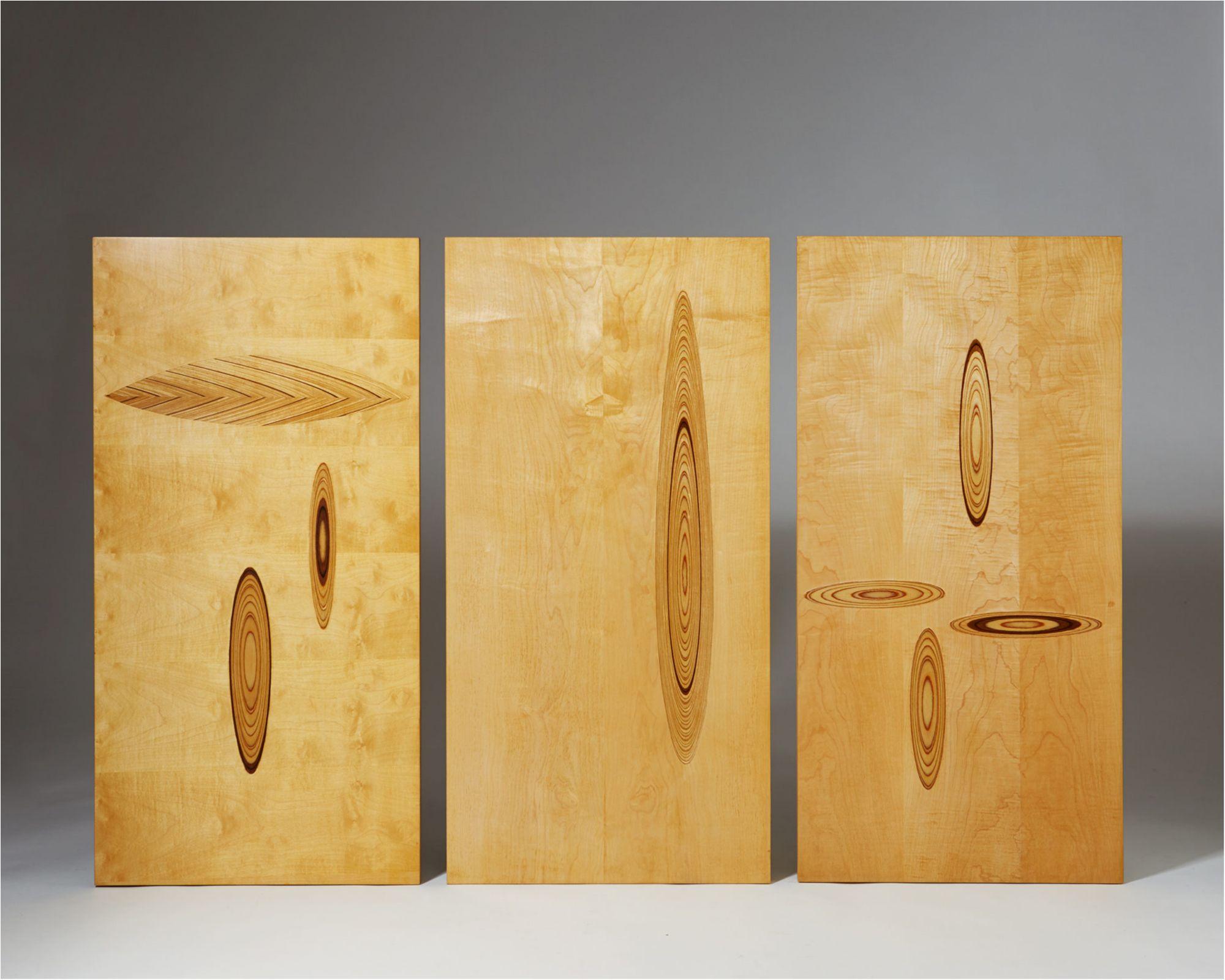 Set of wall panels by Tapio Wirkkala, Finland 1950\'s.