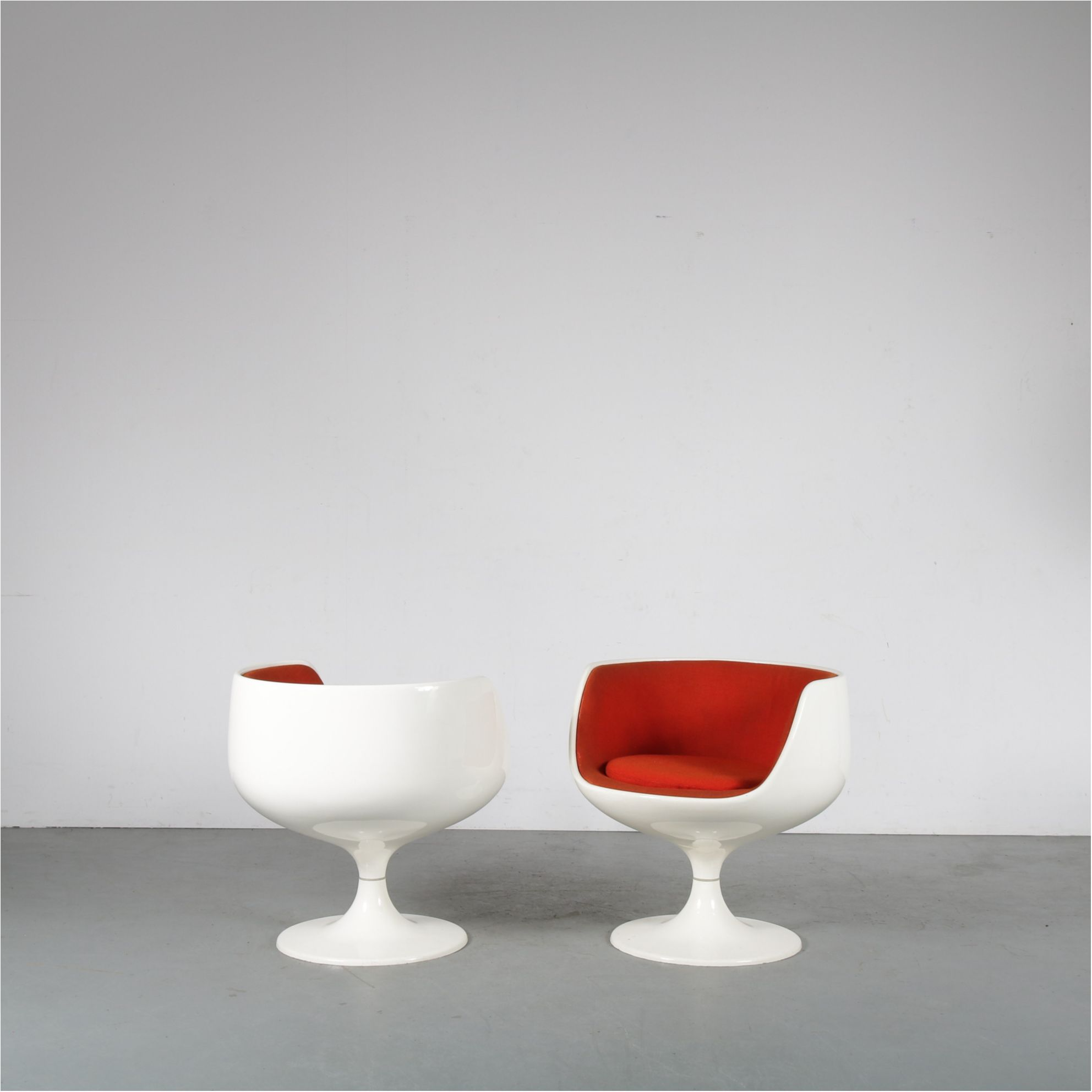 Egg Chair Cognac.1960s Cognac Chairs By Eero Aarnio For Asko Finland 1960