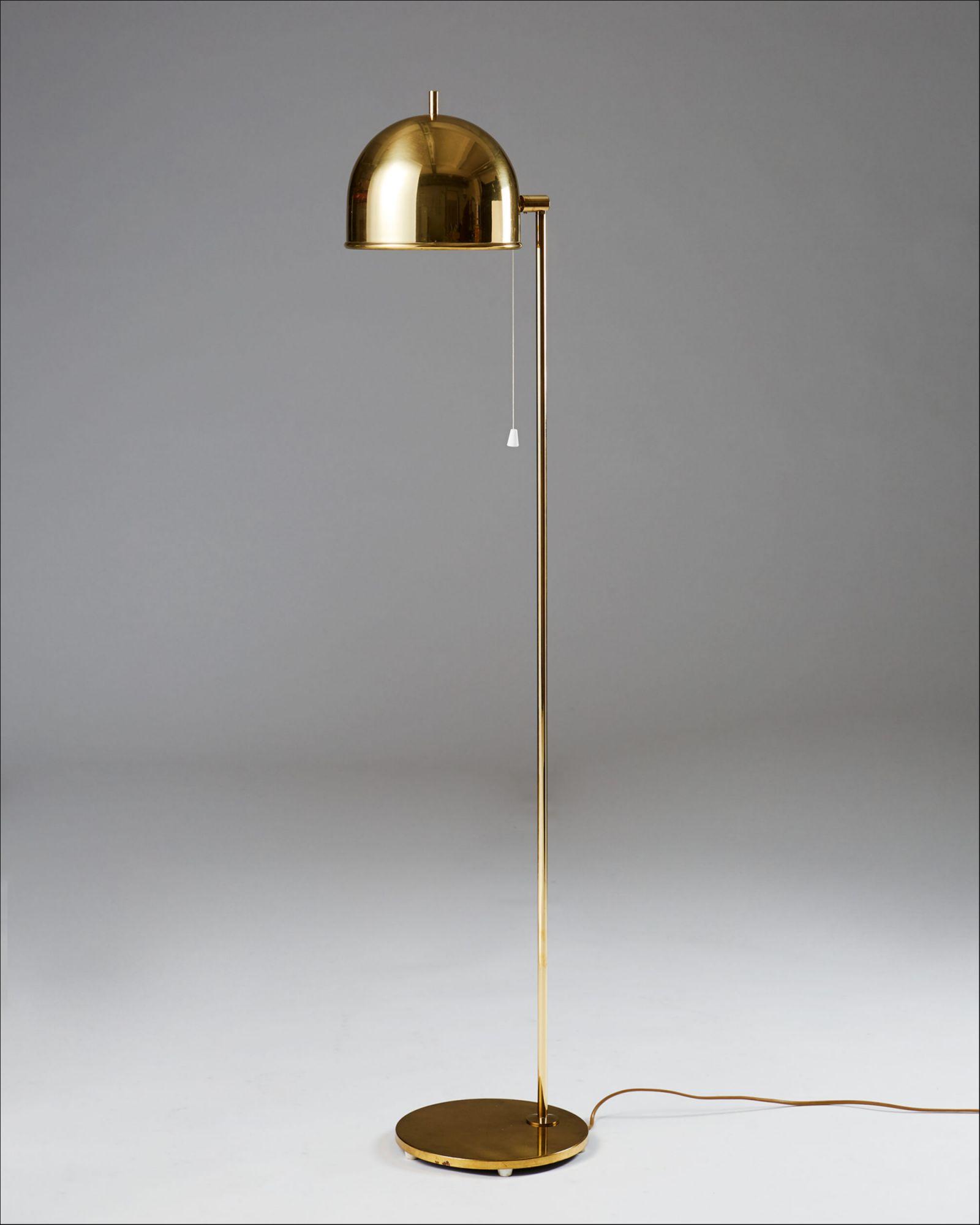Mid Century Modern Floor Lamp Sweden 1960 S
