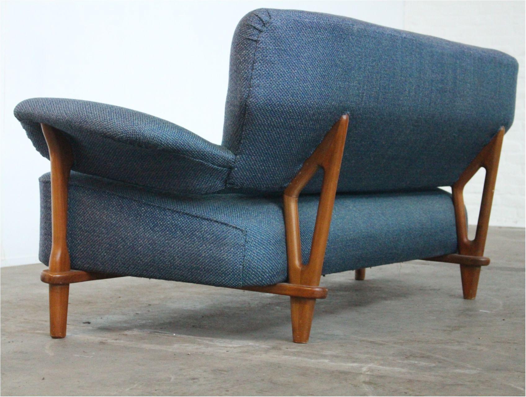 Artifort Design Bank.Rare Three Seat Sofa Model 109 By Theo Ruth For Artifort Dutch