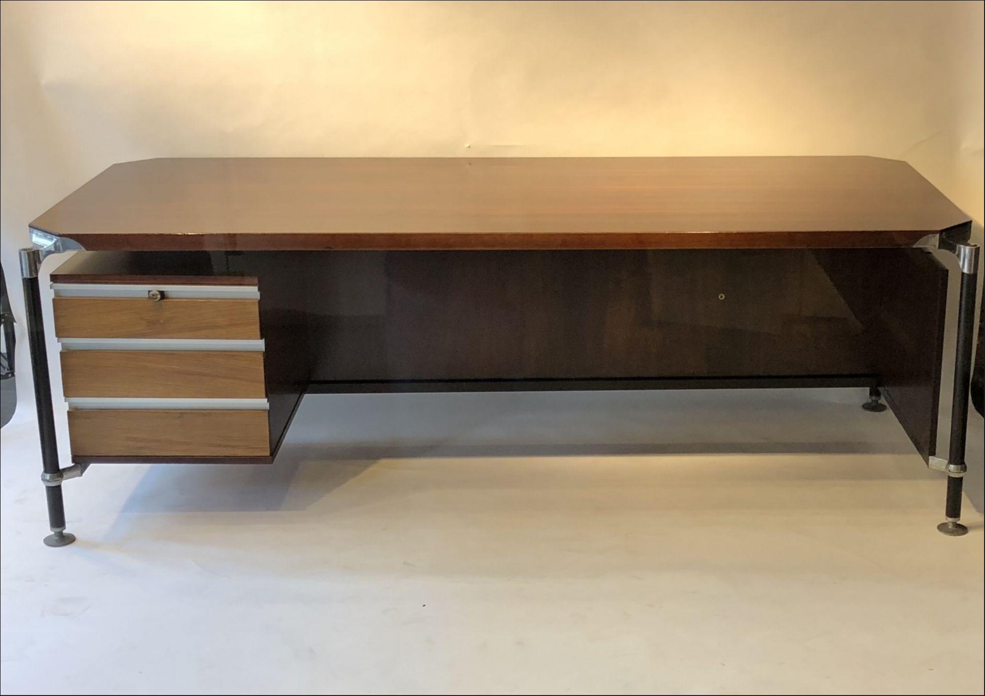 Mobili Italiani Moderni : Desk by ico parisi for mim italy 1958