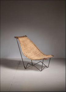 L Anfora Rattan Amphoren Lounge.Artorigo Mid Century Modern Wood Chair Tk T459