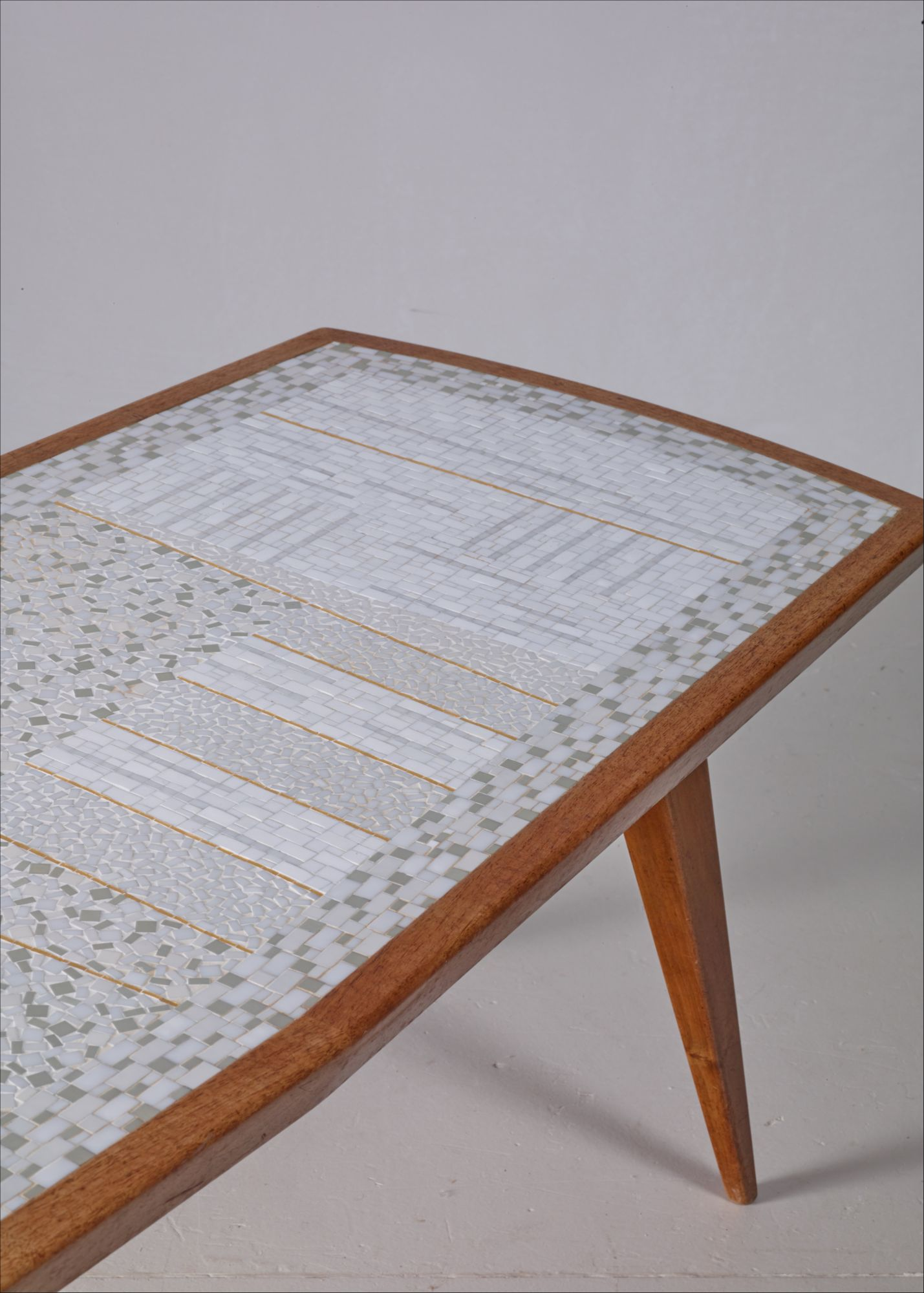 - Berthold Muller Rectangular Mosaic Coffee Table, Germany
