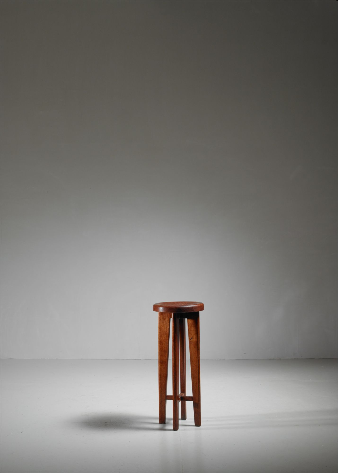 Prime High French Stool In Oak France 1940S Cjindustries Chair Design For Home Cjindustriesco