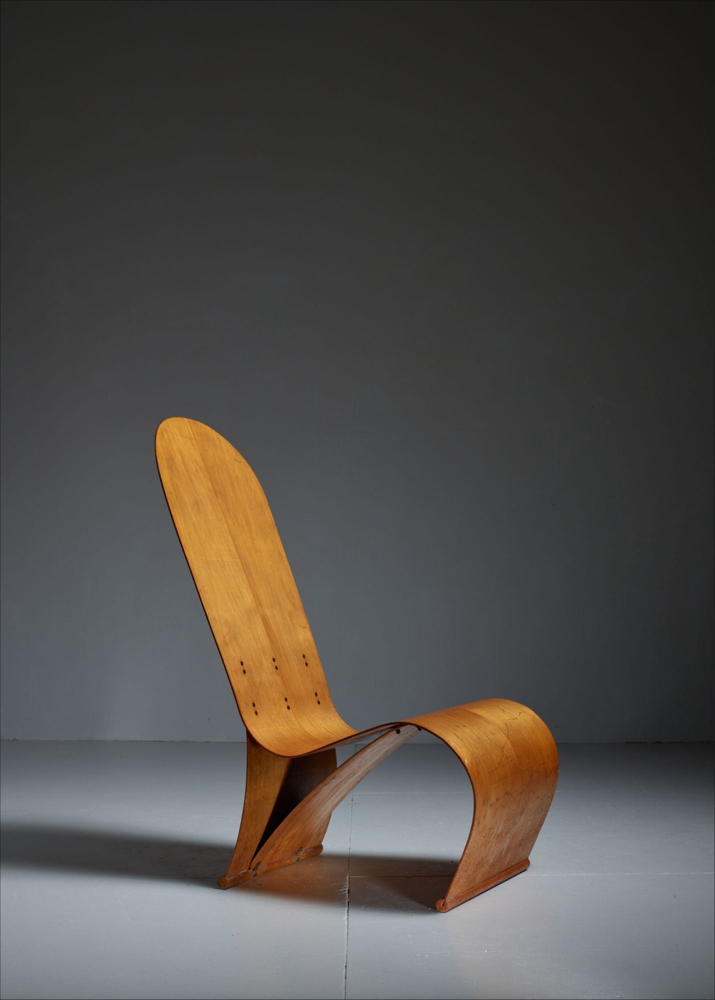 Stupendous Herbert Von Thaden Bent Plywood Lounge Chair Usa 1940S Andrewgaddart Wooden Chair Designs For Living Room Andrewgaddartcom