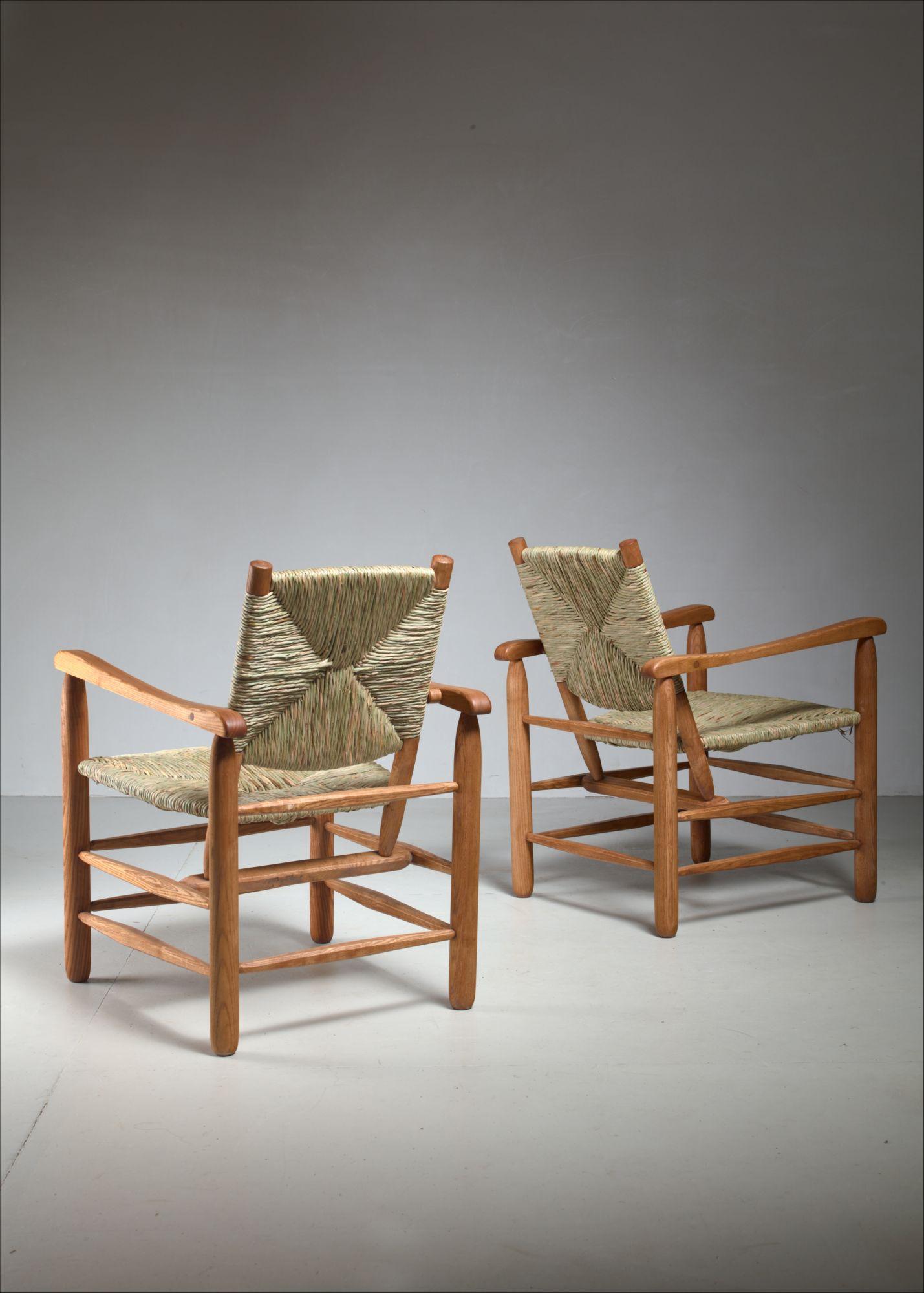 Prime Pair Charlotte Perriand 039Model No 21039 Lounge Chairs Inzonedesignstudio Interior Chair Design Inzonedesignstudiocom