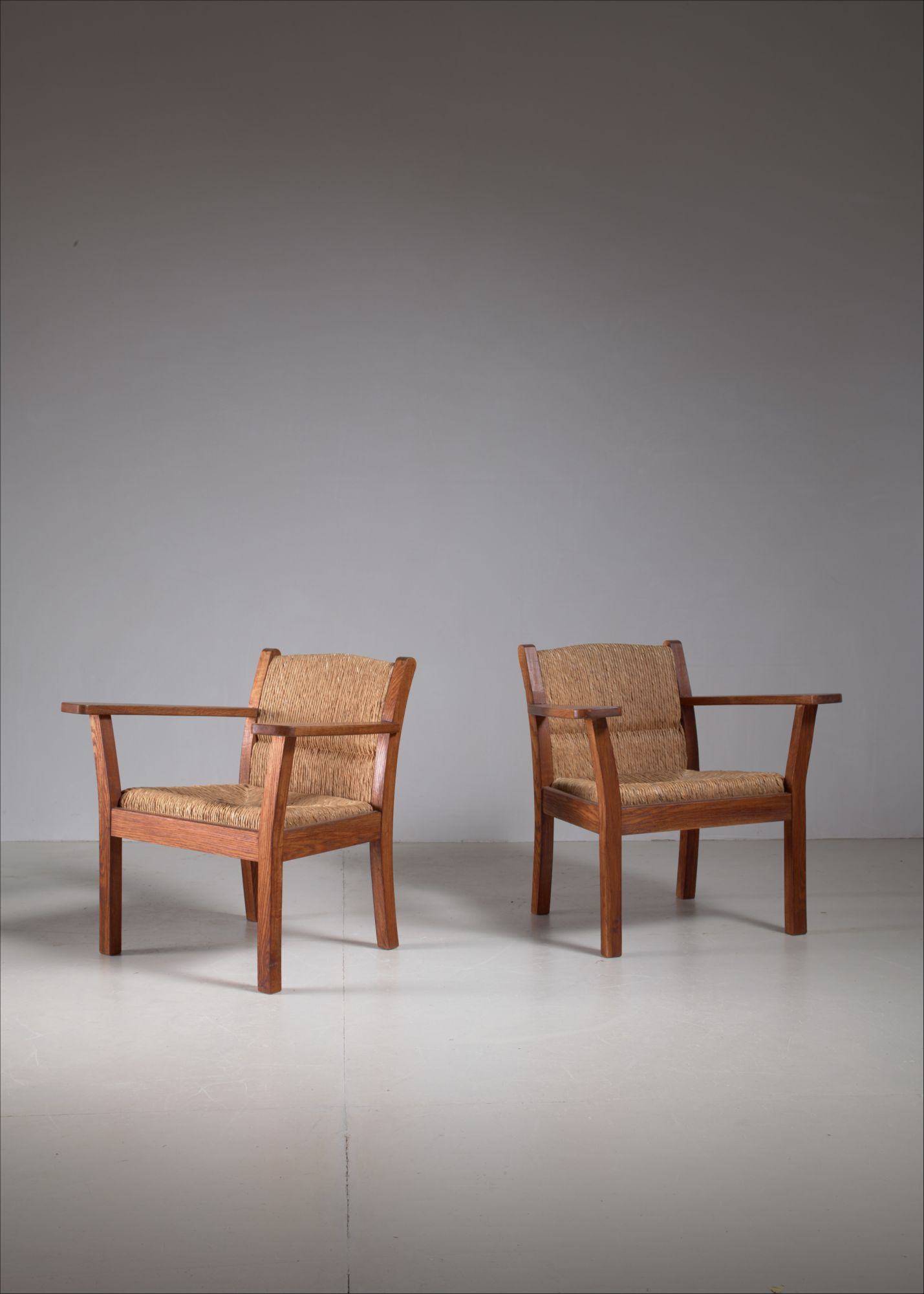 Superb Set Of Two Worpsweder Armchairs By Willi Ohler Germany 1920S Ocoug Best Dining Table And Chair Ideas Images Ocougorg