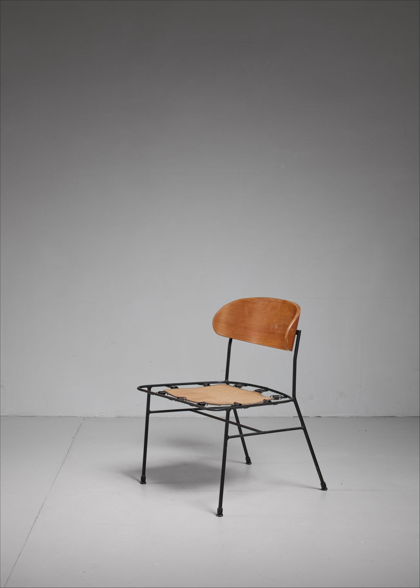 Super Paul Laszlo Side Chair With Curved Plywood Backrest Uwap Interior Chair Design Uwaporg