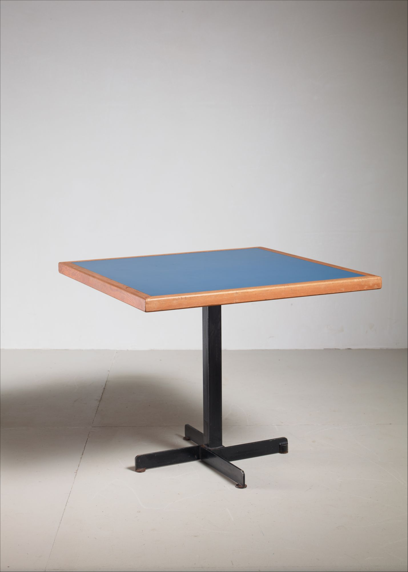 Charlotte Perriand Blue Laminate And
