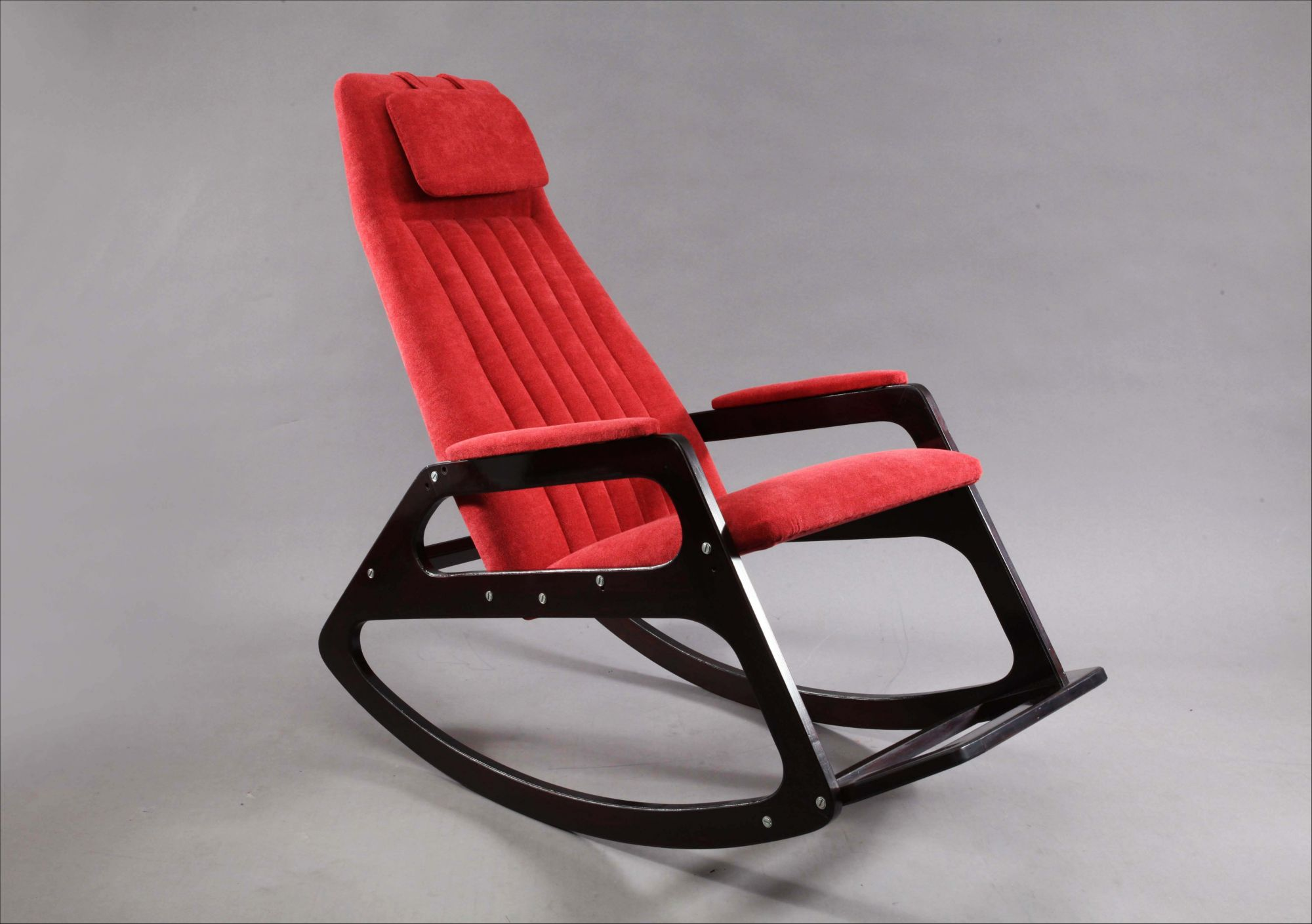 Awe Inspiring Italian Rocking Chair Attributed To Gianfranco Frattini 1960 Gmtry Best Dining Table And Chair Ideas Images Gmtryco