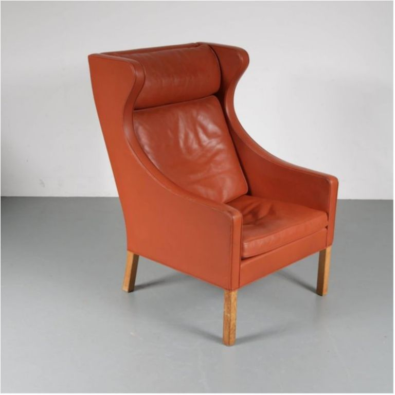 Cool Borge Mogensen Wingback Chair For Fredericia Denmark 1960 Gmtry Best Dining Table And Chair Ideas Images Gmtryco