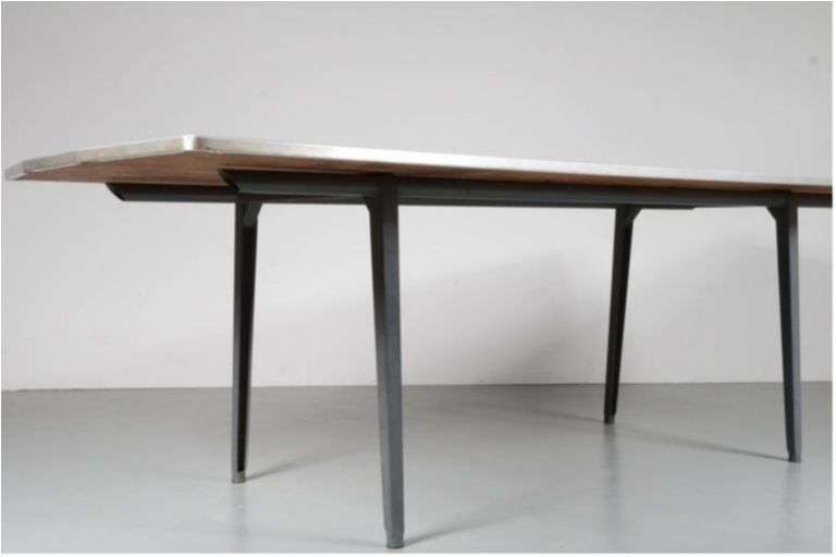 S DiningConference Table By Friso Kramer For Ahrend De Cirkel - Mid century modern conference table