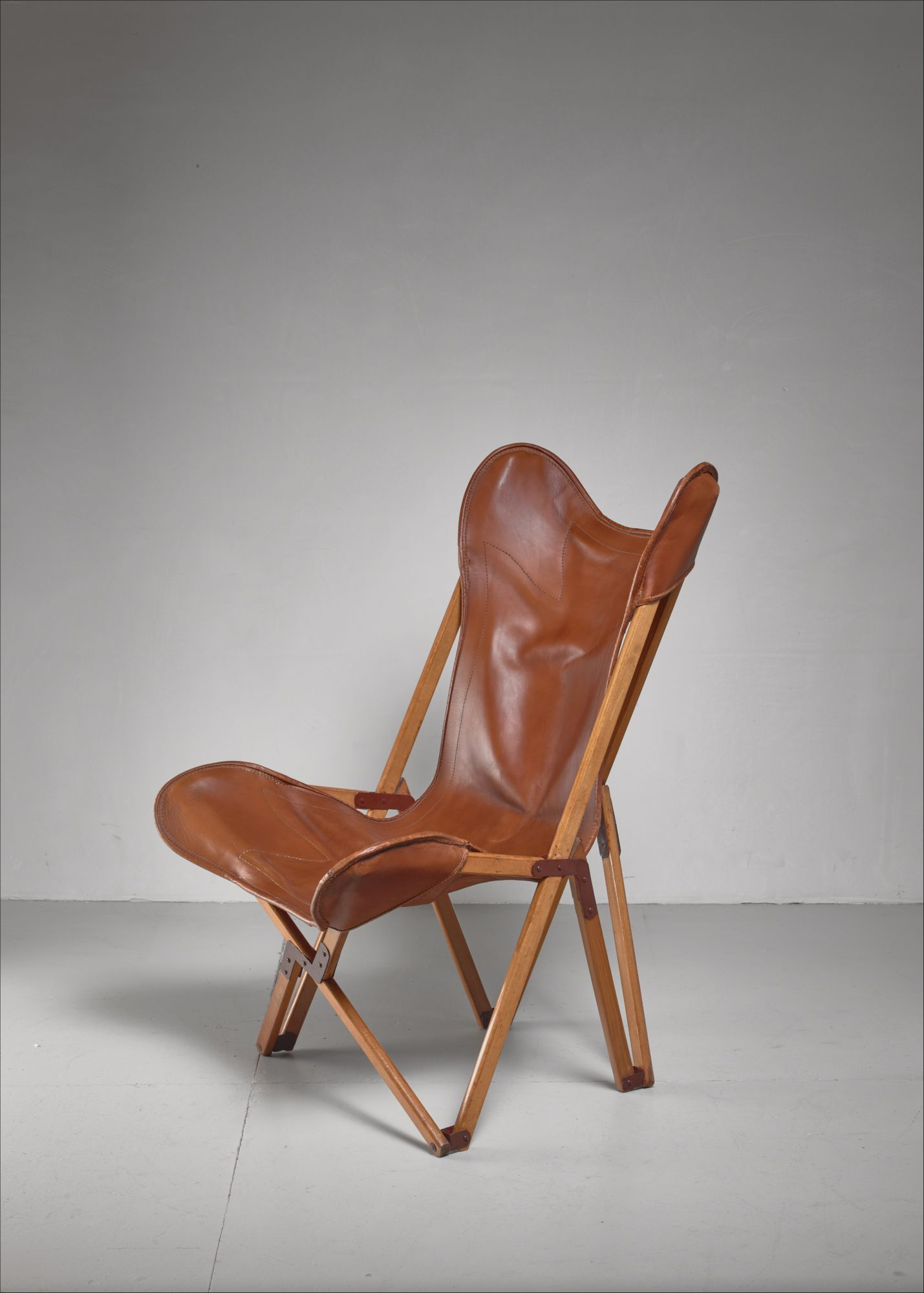 Cool Tripolina Folding Chair Italy 1930S Evergreenethics Interior Chair Design Evergreenethicsorg
