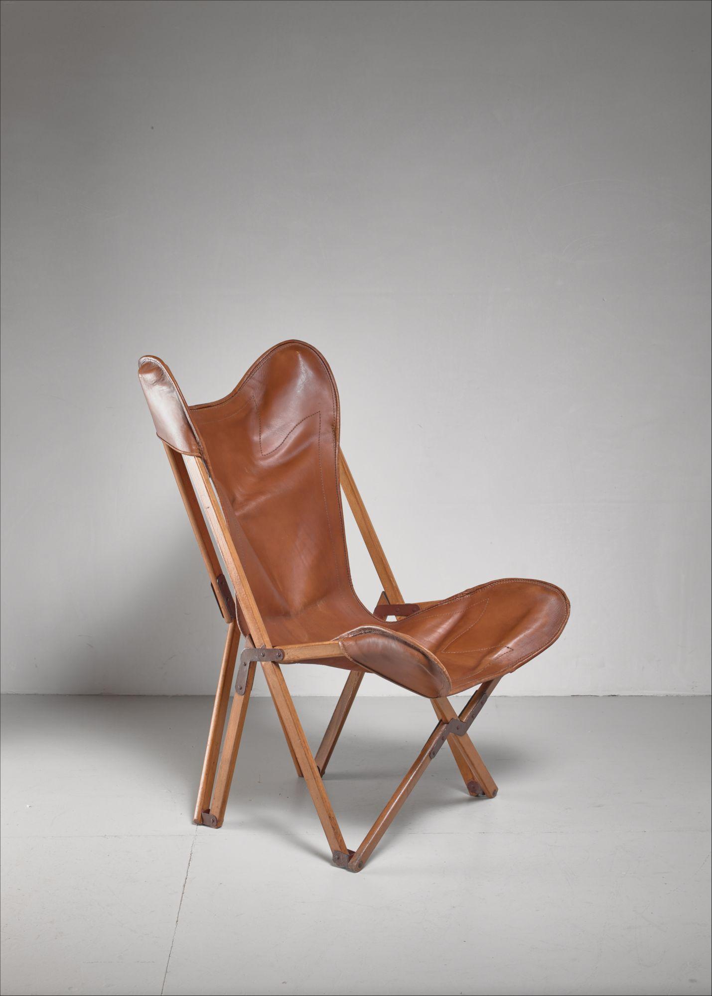 Stupendous Tripolina Folding Chair Italy 1930S Evergreenethics Interior Chair Design Evergreenethicsorg