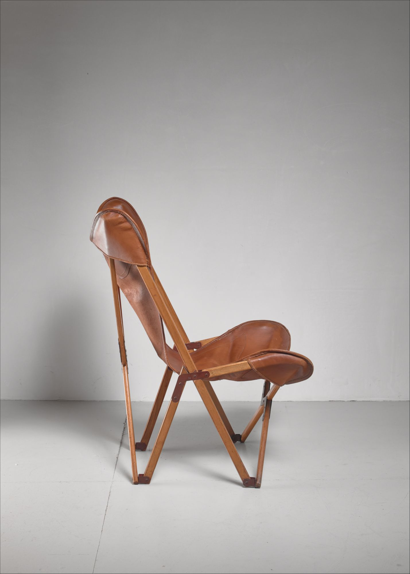 Excellent Tripolina Folding Chair Italy 1930S Evergreenethics Interior Chair Design Evergreenethicsorg