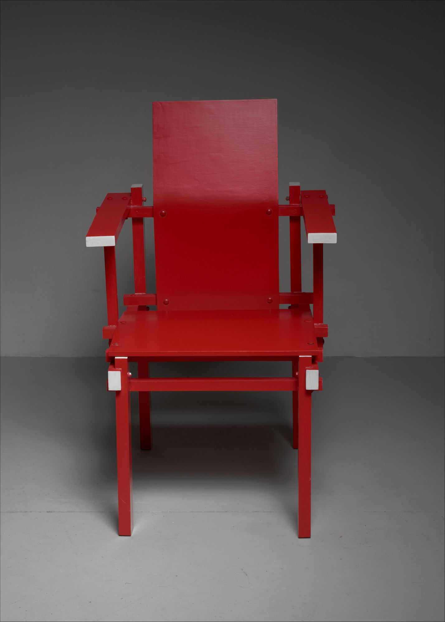Red Gerrit Rietveld armchair, The Netherlands, 1974