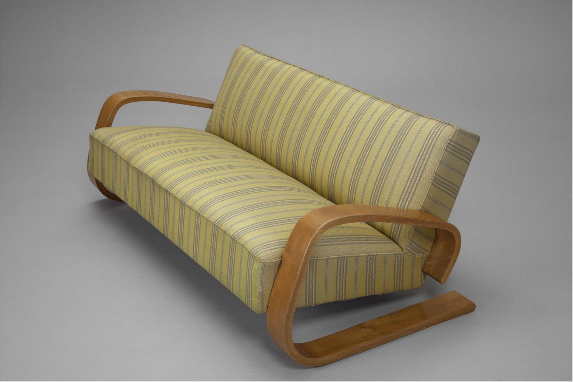 Mid century modern sofa tank by alvar aalto 1940s