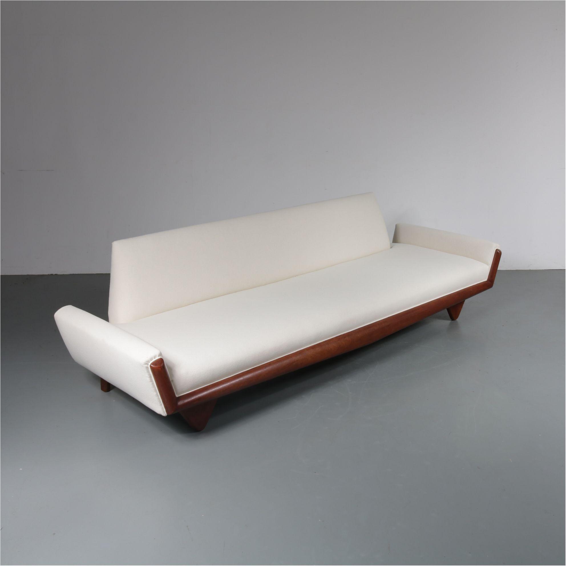 Amazing Adrian Pearsall Gondola Sofa For Craft Associates Usa 1960S Creativecarmelina Interior Chair Design Creativecarmelinacom