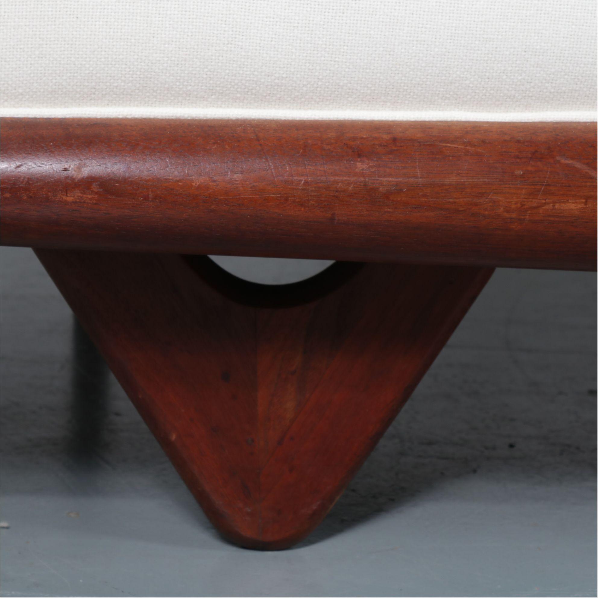 Fantastic Adrian Pearsall Gondola Sofa For Craft Associates Usa 1960S Creativecarmelina Interior Chair Design Creativecarmelinacom