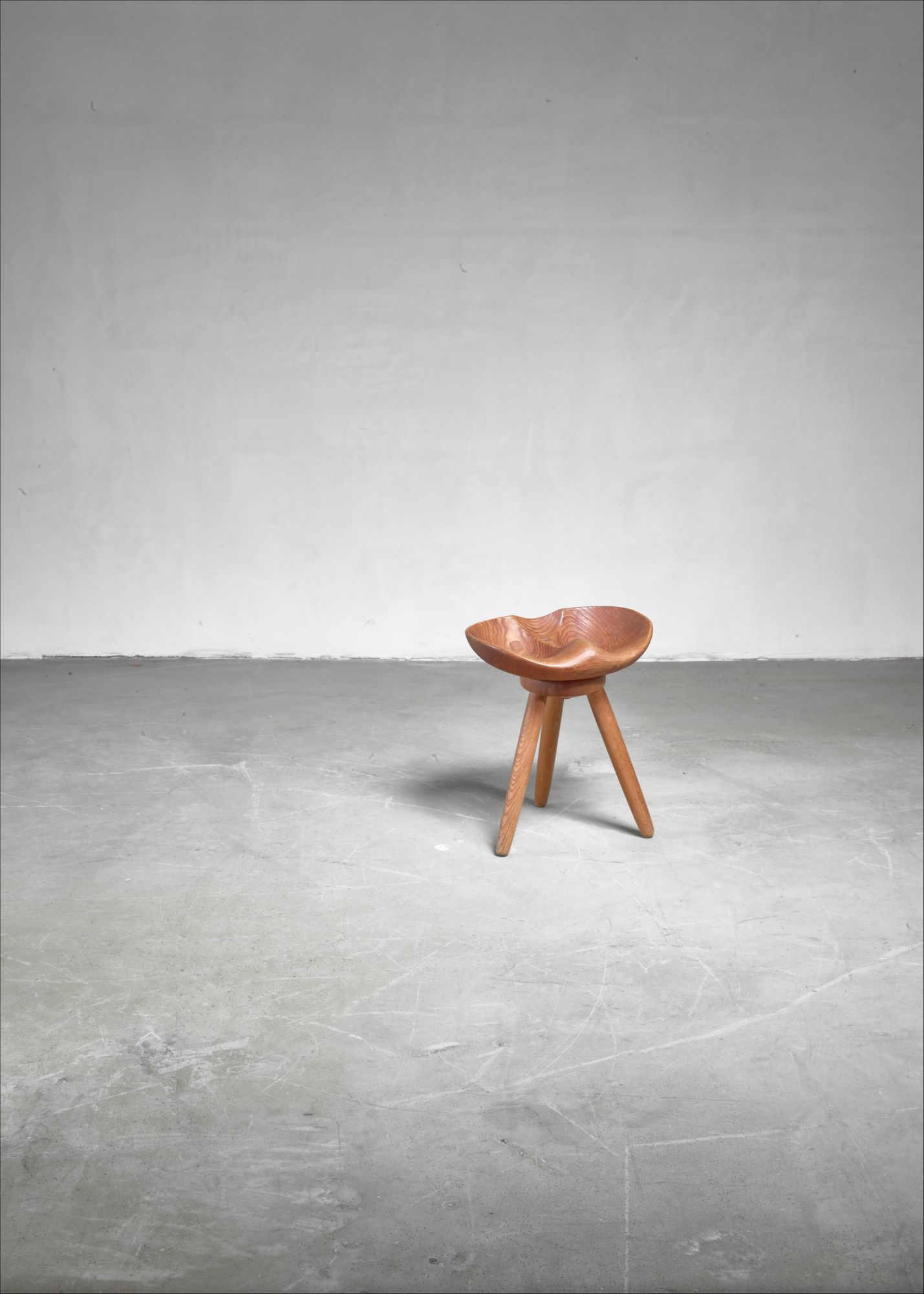 Fine Sculptural Swedish Craft Stool Pabps2019 Chair Design Images Pabps2019Com
