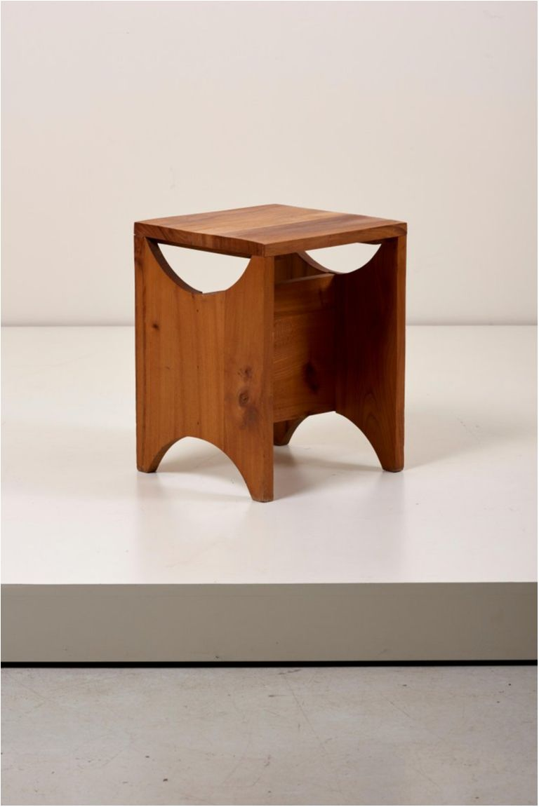 Fine Solid Studio Wood Side Table Or Stool France 1950S Ibusinesslaw Wood Chair Design Ideas Ibusinesslaworg