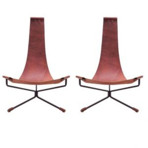 L Anfora Rattan Amphoren Lounge.Artorigo Mid Century Modern Wood Chair Tk T369